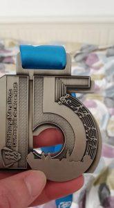 15 years medal