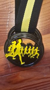 forest flyer race medal