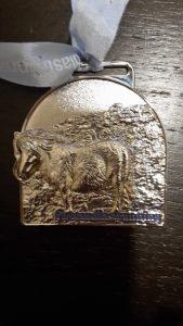 half marathon silver medal